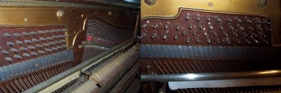 Tuning Pins - Before and After