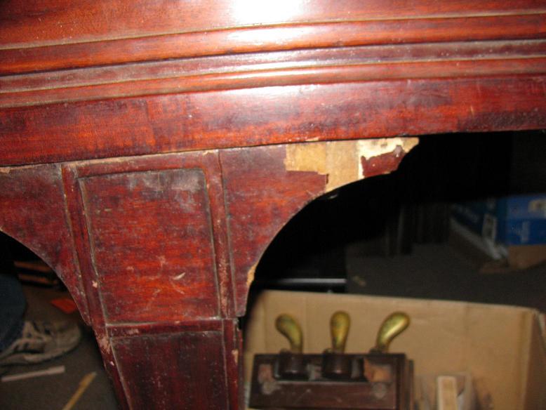 Mason & Risch Grand - Piano Leg Before